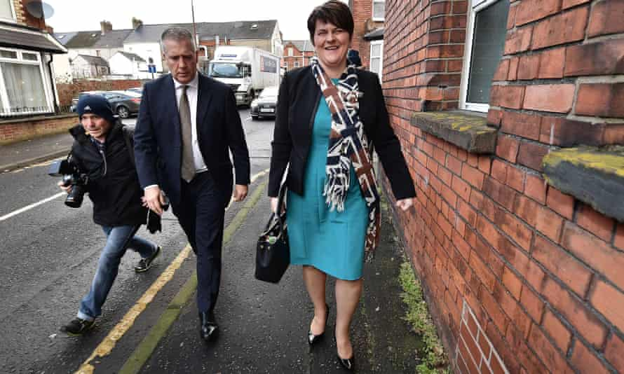 DUP leader and first minister Arlene Foster