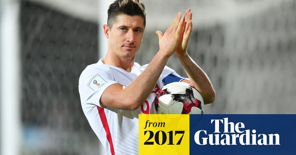 b7690f840 World Cup qualifying roundup  Poland on verge as Lewandowski sets record