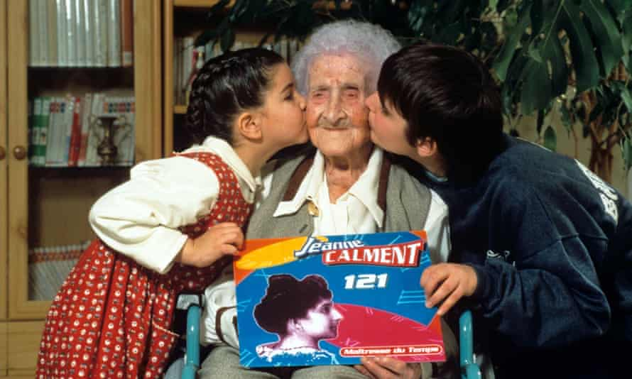 At 121, Jeanne Calment released a rap CD, Mistress Of Time