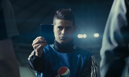 Pepsi Max advert