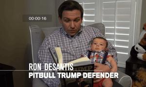 A Ron DeSantis campaign ad.