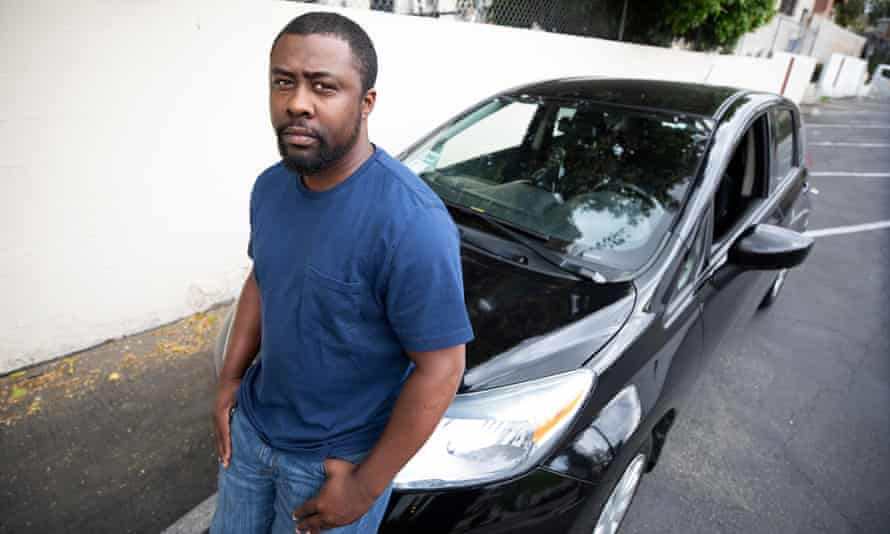 James Hicks, an Uber driver in Los Angeles for about four year: 'You can't tell me a billion-dollar company can't afford to pay their drivers.'