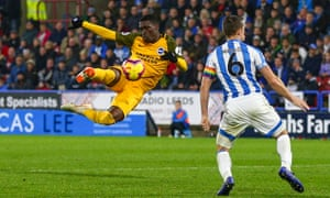 Yves Bissouma shows the all-action style that has Brighton fans singing his name.