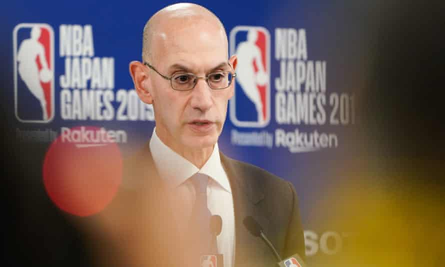 Adam Silver is in the midst of one of the most difficult periods of his time as NBA commissioner
