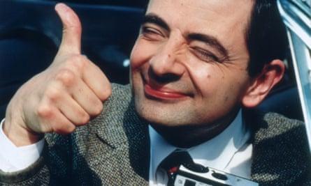 Rowan Atkinson in The Story of Bean