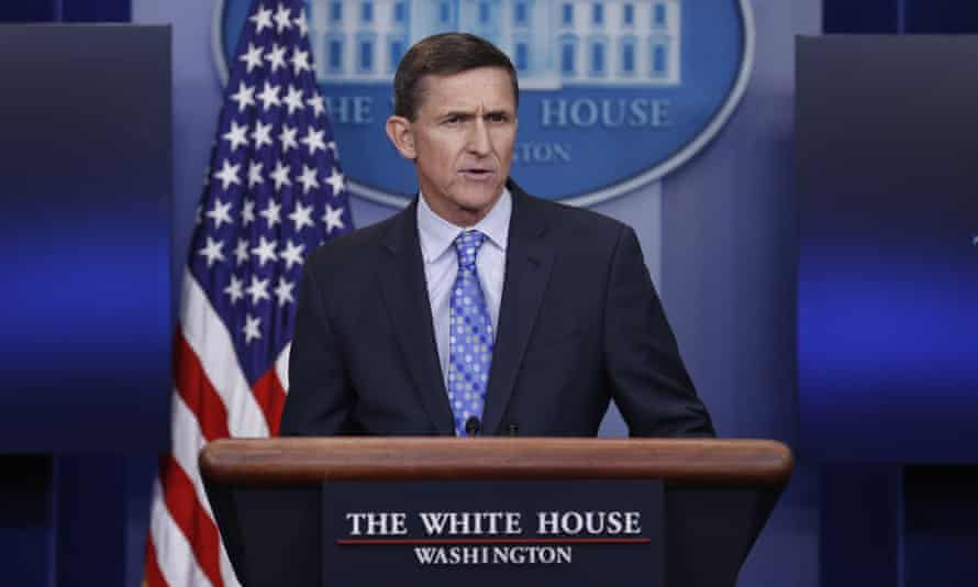 Michael Flynn, the national security adviser, warned on Wednesday that 'we are officially putting Iran on notice' after Iranian-backed Yemeni Houthis attacked a Saudi warship.