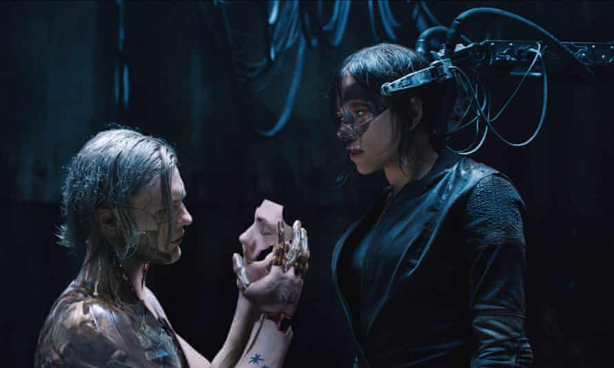 A scene from Ghost in the Shell, which has been used as the inspiration for a VR experience.