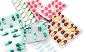 A collection of antibiotics.