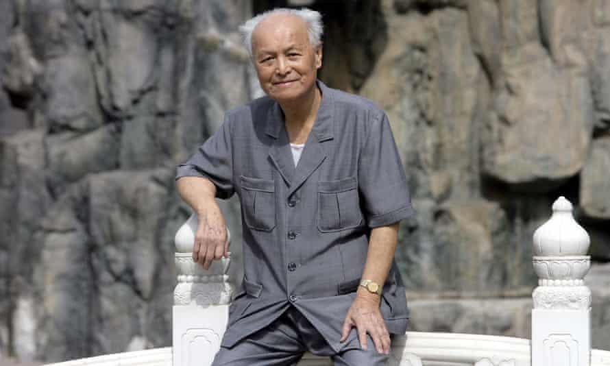 Li Rui in Beijing in 2006, when he was 89.