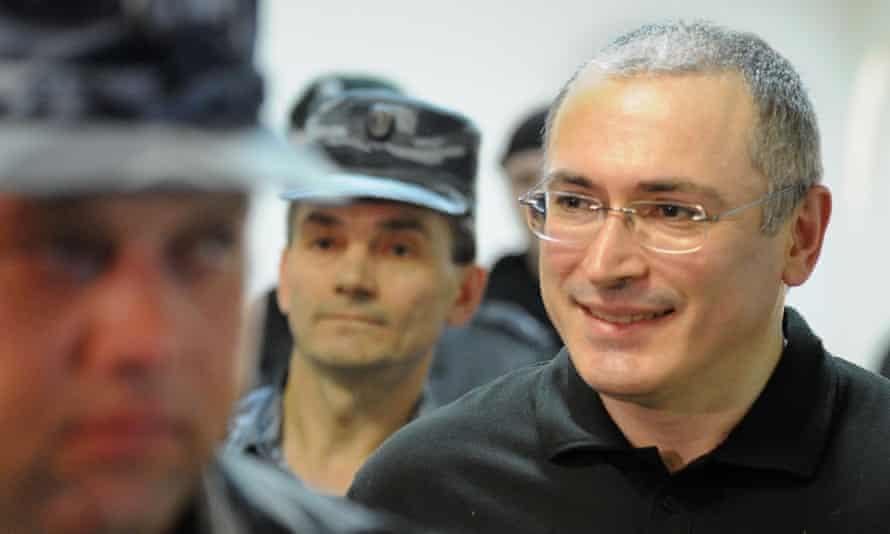 Mikhail Khodorkovsky after Vladimir Putin signed decree granting him a pardon