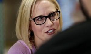 Democrat Kyrsten Sinema could have a close battle with Marth McSally in Arizona.
