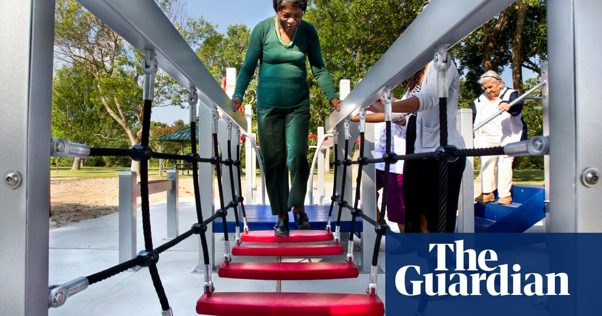 Never too old to play: playgrounds for the elderly – in