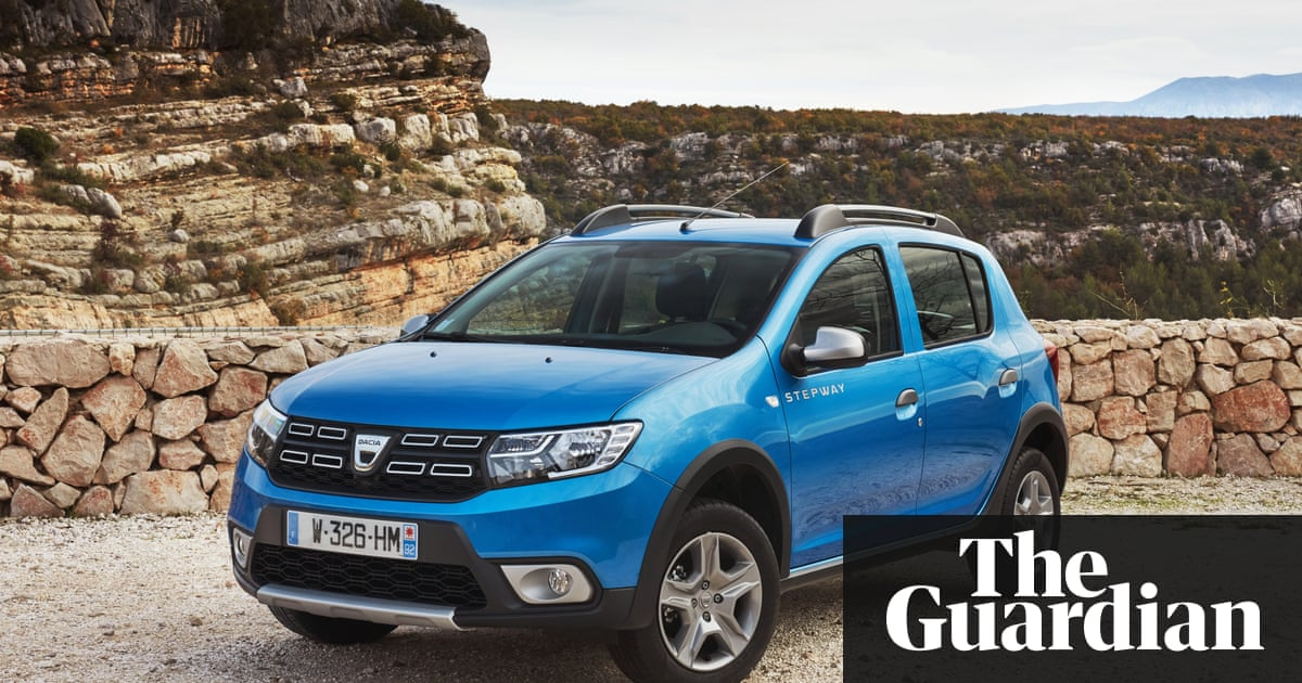 dacia stepway sandero car review martin love technology the guardian. Black Bedroom Furniture Sets. Home Design Ideas