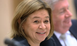 The managing director of the ABC, Michelle Guthrie, says Q&A provides 'participatory democracy'.