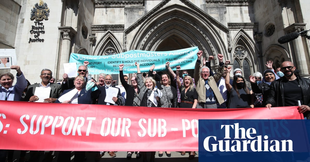 Appeal court quashes 12 more convictions in Post Office IT scandal