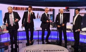 Tory leadership TV debate