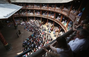 Innoculation by hazelnut… Shakespeare's Globe; between 1603 and 1613 London playhouses were shut 60% of the time.