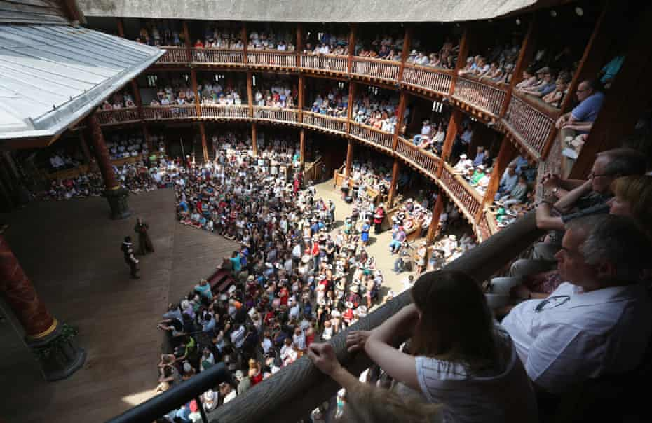 Inoculation by hazelnut… Shakespeare's Globe; between 1603 and 1613 London playhouses were shut 60% of the time.