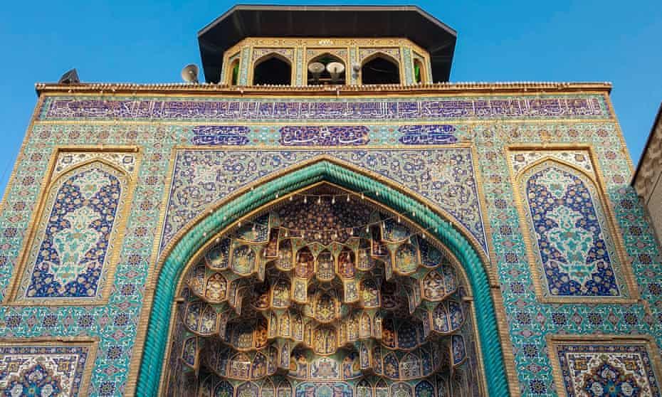 Shah Cheragh mosque, Shiraz, Iran.