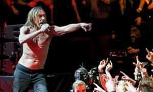 Iggy Pop at Royal Albert Hall.