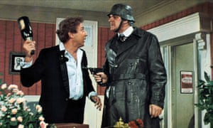 Gene Wilder (left) in the 1968 film of The Producers.