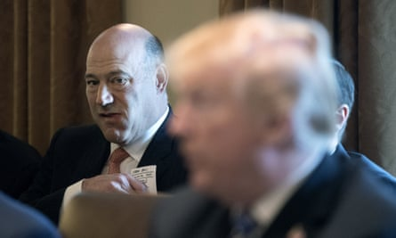 The outgoing director of the National Economic Council Gary Cohn attends a cabinet meeting.