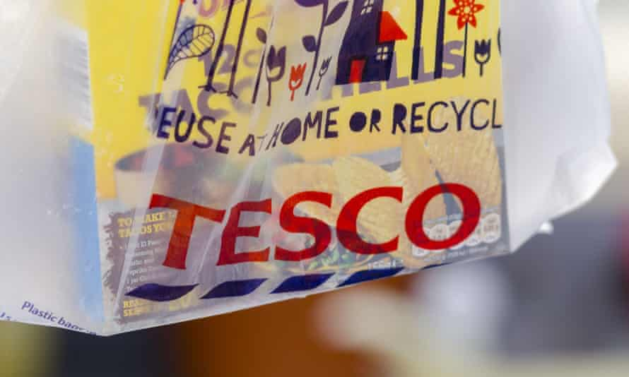 Tesco hopes the move will cut bag sales, reducing litter and the amount of waste sent to landfill.