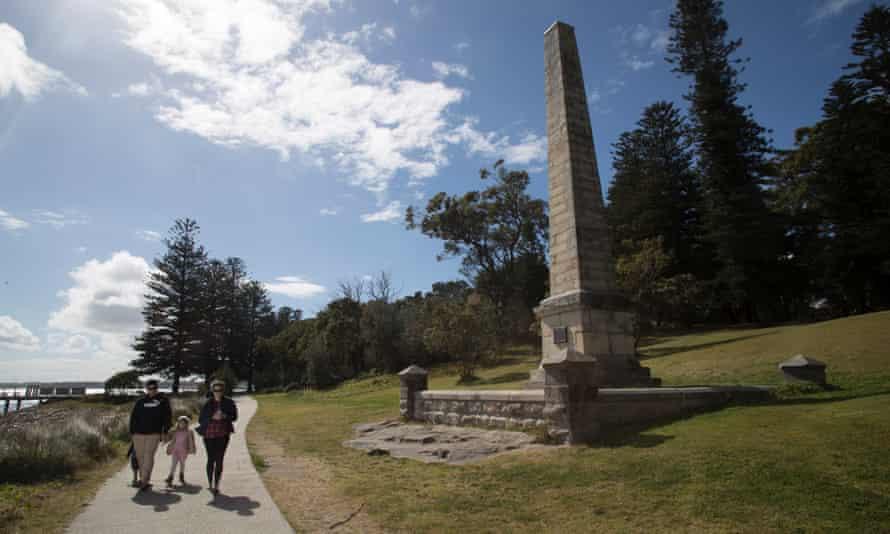 The Captain Cook obelisk at Kurnell