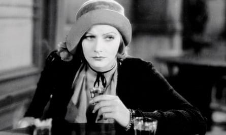 Greta Garbo in the 1930 film Anna Christie.