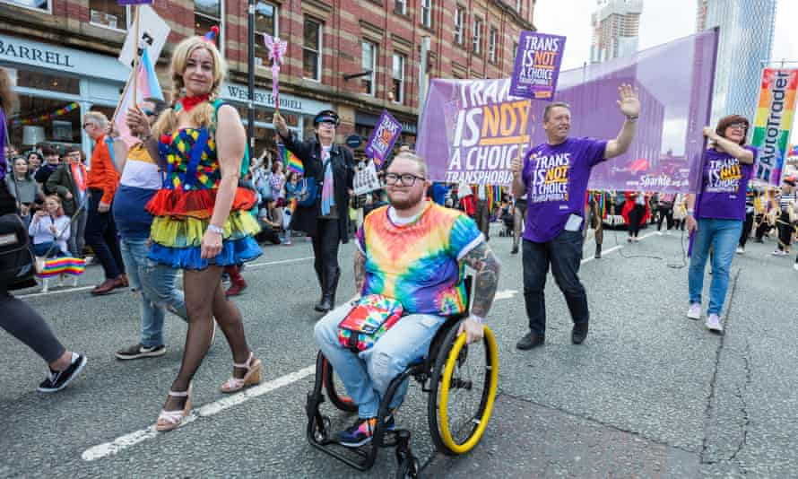 Manchester Pride parade in 2018