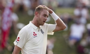 A frustrating day for Stuart Broad and England.
