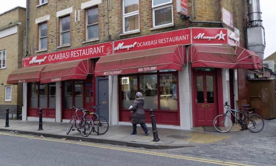The original Mangal restaurant in Arcola Street.