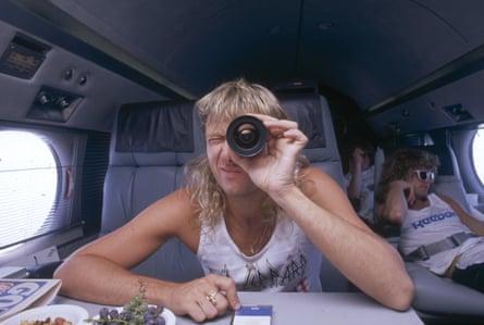 Looking back … Joe Elliott in 1987.
