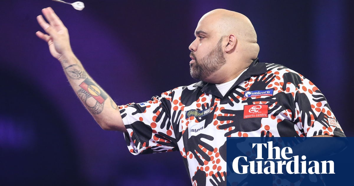 Tributes paid to Australian darts player Kyle Anderson after his death aged 33