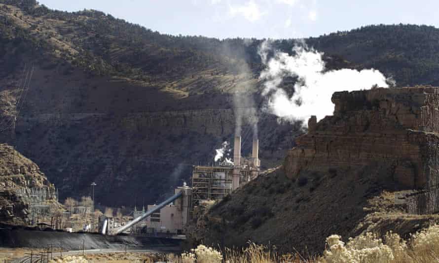 Coal-fired Castle Gate power plant, Utah