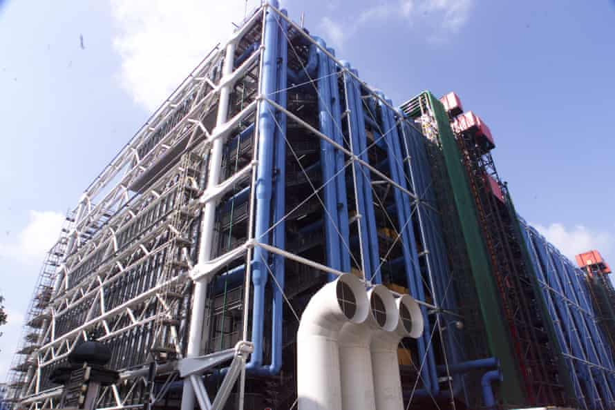 The Pompidou Centre in Paris, which opened in 1977, and on which Tom Barker worked while director of Ove Arup & Partners.