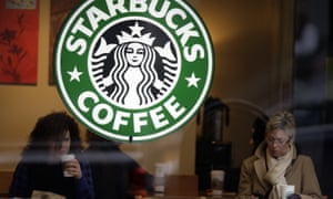 What would Mrs Dalloway say? … coffee drinkers in a branch of Starbucks.