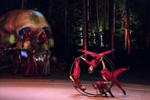 The 2018 show Nezh, staged outdoors, is the tale of an orphaned girl on a pirate island