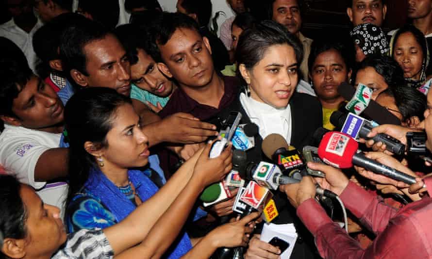 Bangladeshi lawyer Sara Hossain