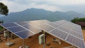 Sunlabob solar panels Myanmar