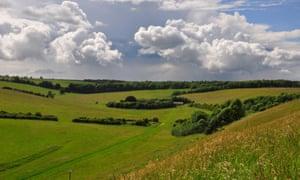 An unudalting stretch of Salisbury Plain, Wiltshire