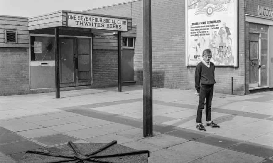 One of Liverpool photographer Stephen McCoy's photographs of Skelmersdale, taken in 1984.