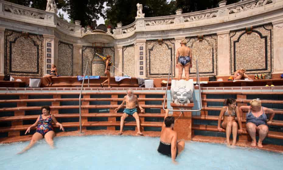 The Gellert Bath.