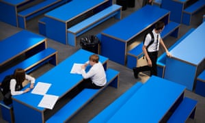 Gateacre school - pupils in seating area