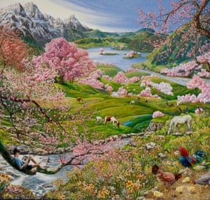 The Four Seasons 'Spring' by Raqib Shaw.