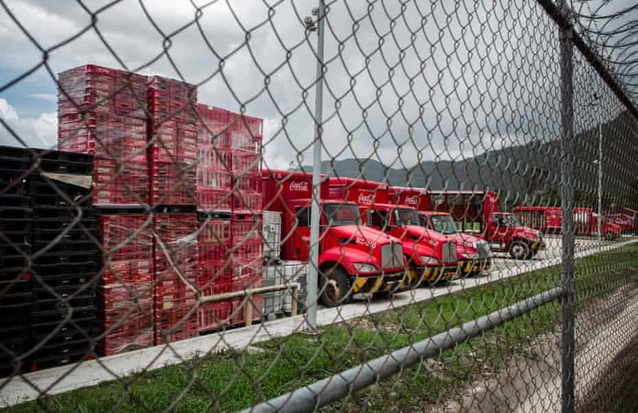 Fensa, the Coca-Cola plant of San Cristóbal, Chiapas