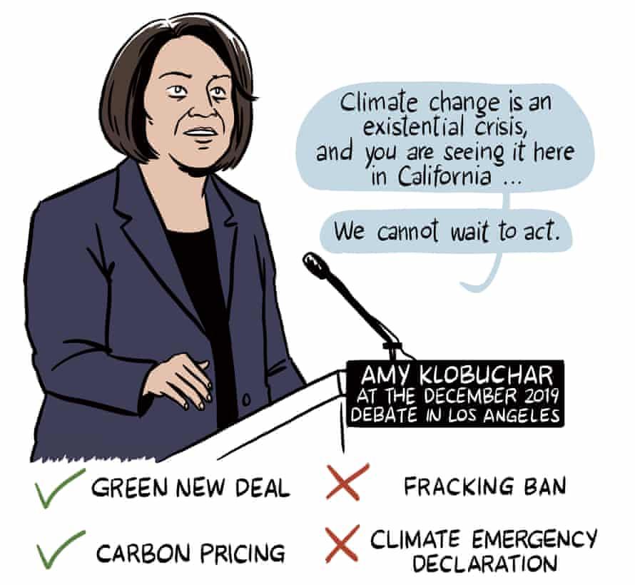 Amy Klobuchar on California and climate