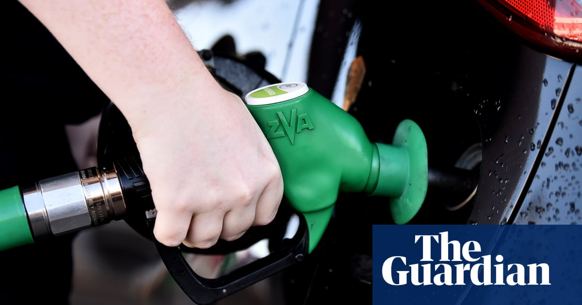 Cost of petrol in UK hits highest level since 2013 after pandemic slump