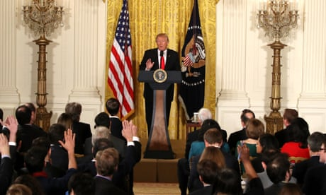 719d399d Donald Trump denies White House in chaos at extraordinary press conference