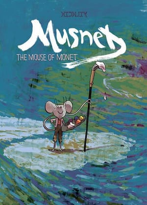 Musnet: The Mouse of Monet by K Kickily (May, Uncivilized Books)
